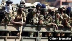 Mauto eZimbabwe National Army ari kupomerwa mhosva yekutyora kodzero dzevanhu munyika.