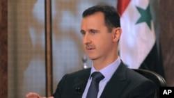叙利亚总统阿萨德(资料照)