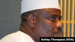 Kakaki Aminu Waziri Tambuwal wanda ya lashe zaben dan takarar gwamnan Sokoto na jam'yyar APC