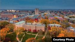 布朗大学校园。