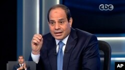Predsednički kandidat Abdul Fatah al-Sisi