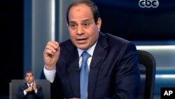စစ္တပ္အႀကီးအကဲေဟာင္း Abdel-Fattah el-Sissi