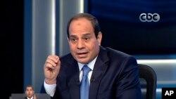 Pilpres di Mesir 26-27 Mei, diperkirakan hanya formalitas bagi kemenangan mantan pemimpin militer, Jenderal Abdel-Fattah el-Sissi (foto: dok).