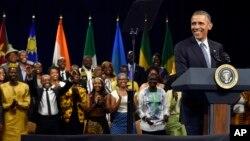 Perezida Obama aganira n'Imena z'Abanyafurika (Tariki ya 3 y'ukwa munani 2015)
