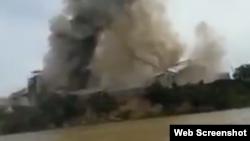 Explosión en planta de Argentina