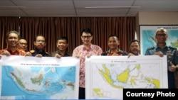印度尼西亞官員發布了新的地圖,將南中國海的一部分重新命名為北納土納海。