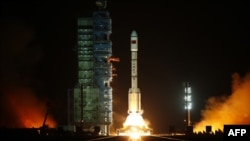 """Lansiranje kineskog svemirskog broda Tiangong jedan, u prevodu """"nebeska palata"""""""