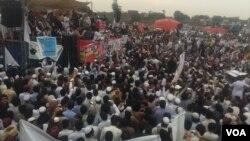 پشاور میں پشتون تحفظ موومنٹ کا جلسہ، فائل فوٹو