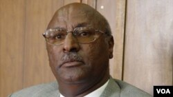 Eritrean Minister of Agriculture Arefaine Berhe