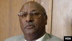 Eritrean Minister of Agriculture Arefaine Berhe