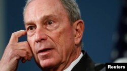 Thị trưởng New York Michael Bloomberg.