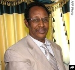 President Dahir Rayale Kahin seeks a second term in next week-end's polls