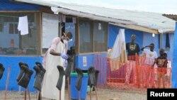 Wurin da ake kula da yara akan cutar ebola