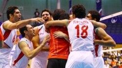 قهرمانی والیبال ب ایران در دبی