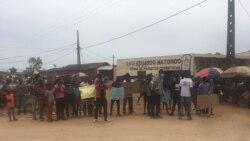 Manifestantes detidos no Uíge dizem ter sido mal tratados – 2:32