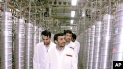 이란 수도 테헤란 남쪽의 난타즈 우라늄 농축시설(자료사진)