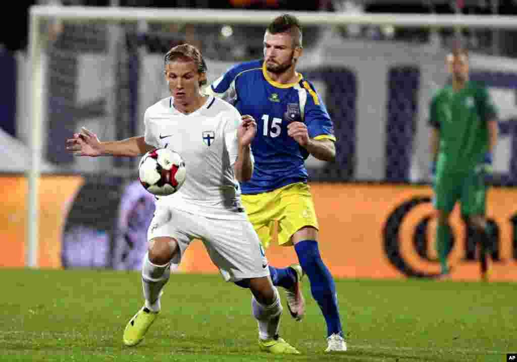 Soccer WCup 2018 Finland Kosovo