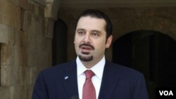 PM Saad Hariri melawat ke Washington untuk membahas masalah keamanan di Timur Tengah.