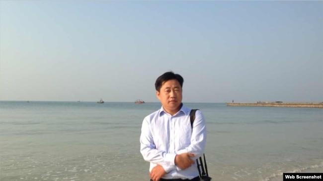 因調查反習公民猝死看守所 中國維權律師謝陽被特警控制