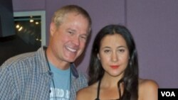 Larry London with Vanessa Carlton