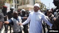 Karim Wade, le fils de l'ancien président Abdoulaye Wade le 15 mars 2013.