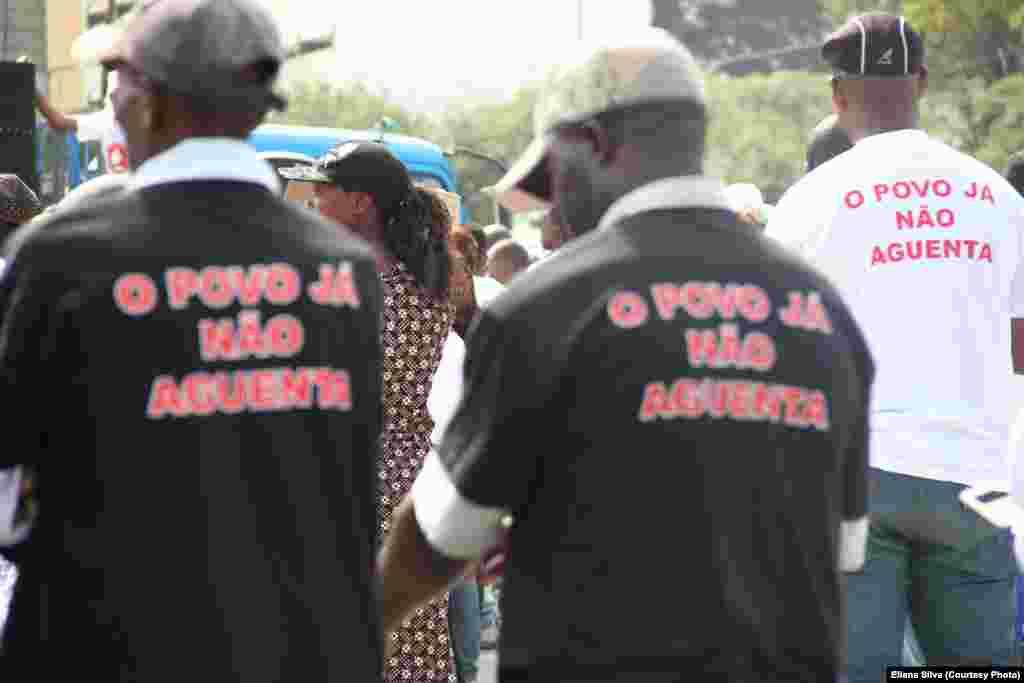 Marcha pela paz em Maputo, Sábado 27 de Agosto. Foto gentilmente cedida por Eliana Silva. Moçambique