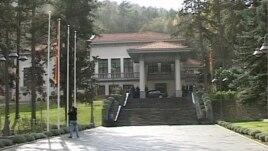 Shkup, Të shtëna pranë vilës presidenciale