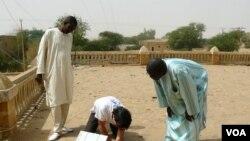 Un Télécentre public à Tombouctou, Mali, 2 juillet 2013.