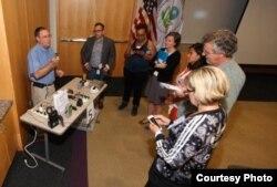 联邦环保局指导民众使用空气检测器