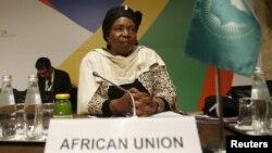 Nkosazana Dlamini-Zuma, présidente de la Commission de l'Union africaine
