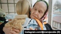 Саша Мельничук із бабцею в проекті для Marc Jacobs