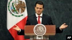 El presidente mexicano, Enrique Peña Nieto, dice que impulsará nueva relación con EE.UU.
