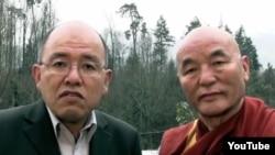 Chitues Ven Thubten Wangchen and Wangpo Tethong