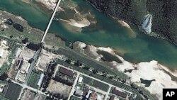 북한 영변 핵시설 위성사진 (자료사진)