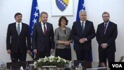 Posjeta američke delegacije Predsjedništvu BiH, Sarajevo, 6. juni 2018.
