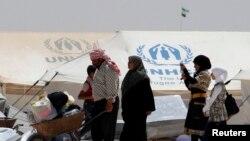 پناهجویان سوری که به تازگی وارد عراق شده اند