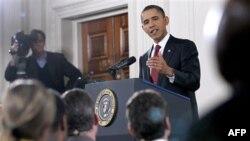 Пресс-конференция в Белом доме. Вашингтон. 3 ноября 2010 года