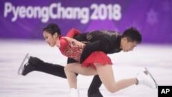 中国运动员在韩国冬奥会(21图)