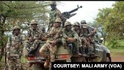 Des soldats de l'armée malienne. (Source: FAMA/archives)