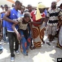 Une Ivoirienne dont le frère a été tué dans l'attaque du attaque du bureau de campagne de Ouattara, à Youpougon