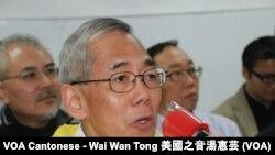 香港時事評論員王永平表示,失去言論及資訊自由香港不能夠成為國際金融中心 (美國之音湯惠芸)
