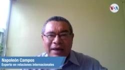 Napoleon Castro- experto en relaciones exteriores SOT
