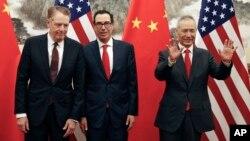 5月11日中美談判資料照。