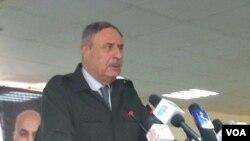 د کورنیو چارو وزیر جنرال علومي په ارزگان کې