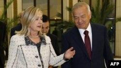 Хиллари Клинтон и Ислам Каримов