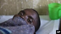 Umurwayi wa Cholera ari mu bitaro