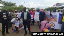 PROTEST BY CHADIANS