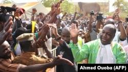 Le chef de l'opposition burkinabé, Zéphyrin Diabré, à Ouagadougou, le 29 avril 2017.