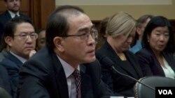VOA连线:前朝鲜高级外交官出席美国会听证