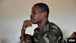 Lt. Joel Mutabazi mu rukiko i Kigali mu Rwanda